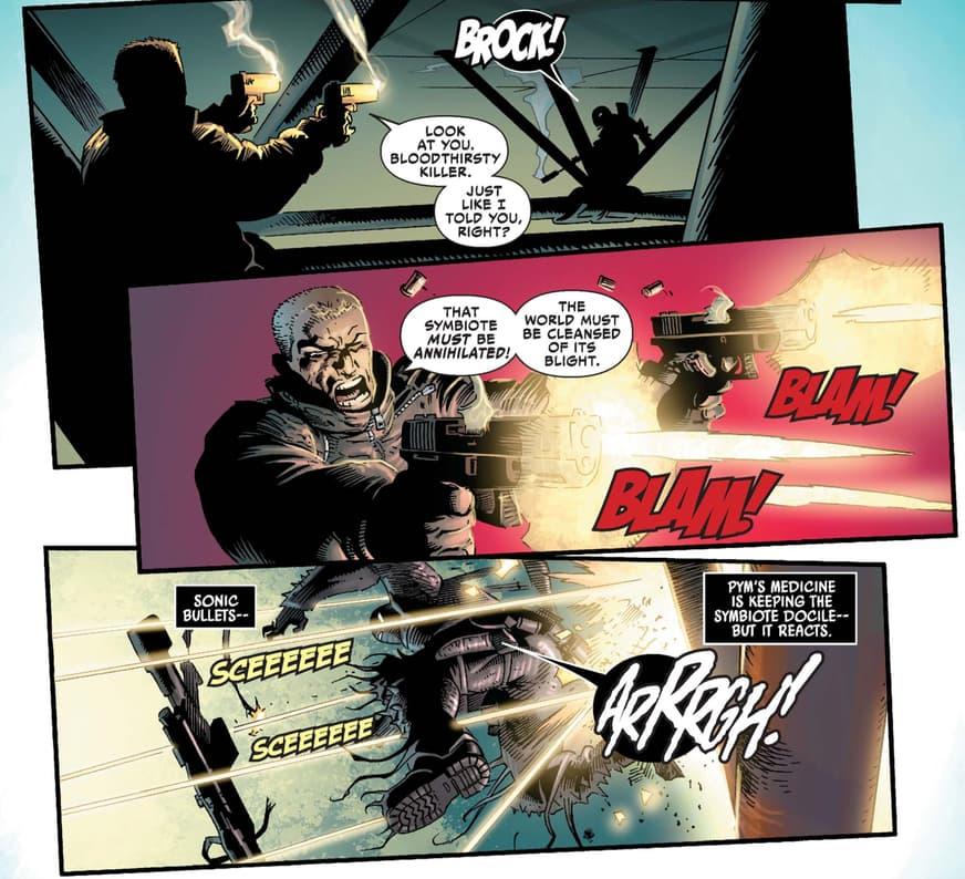 Venom vs. Agent Venom