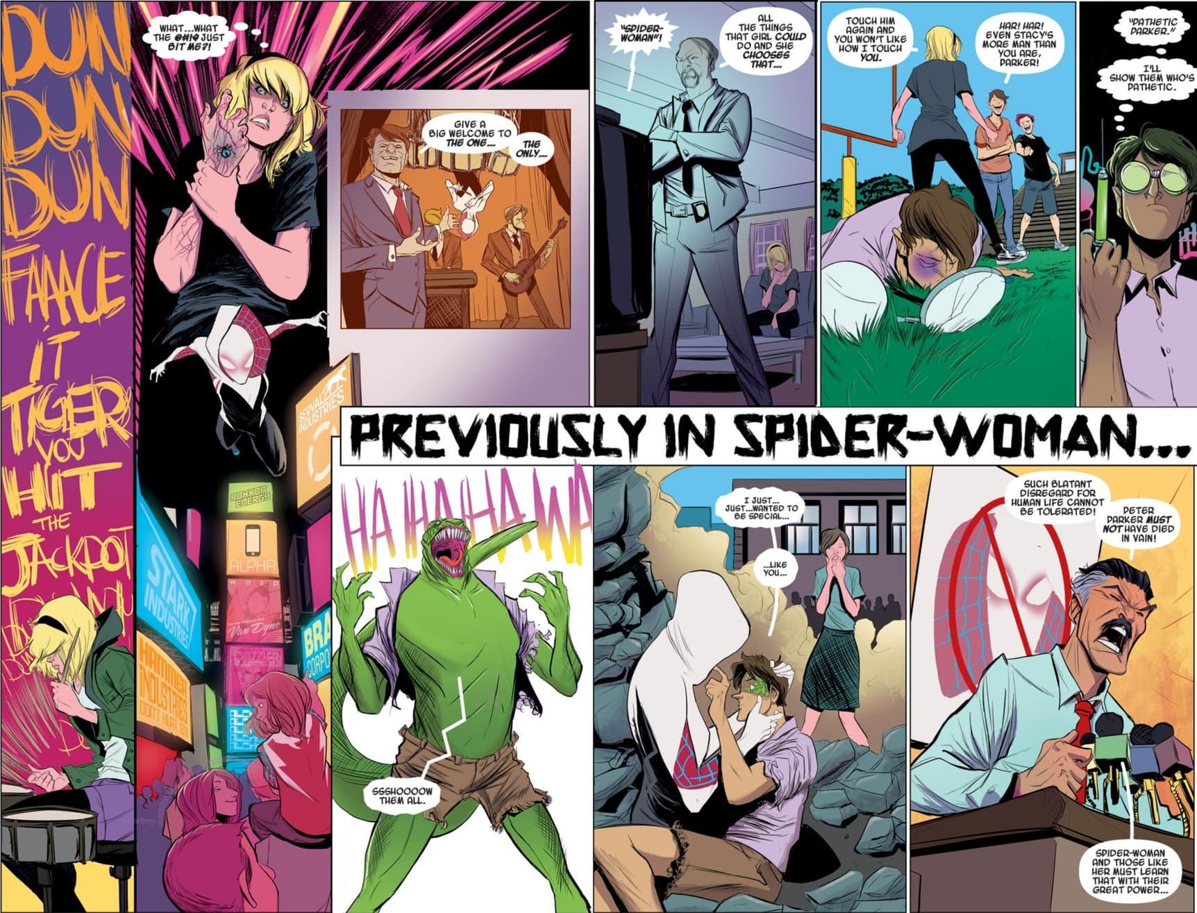 Spider-Gwen debut