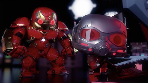 Image for Ant-Man Faces a Hulkbuster-Powered Ultron in New Marvel Funko Short