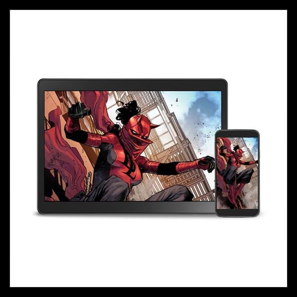 Marvel Insider Featured Rewards Digital Wallpaper Elektra from Daredevil #25
