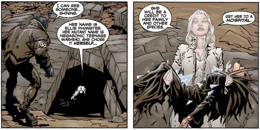 Emma Frost in Genosha