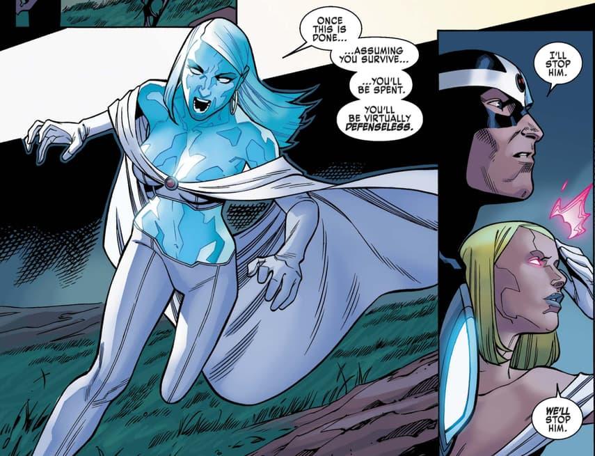 Emma Frost in X-Men Blue