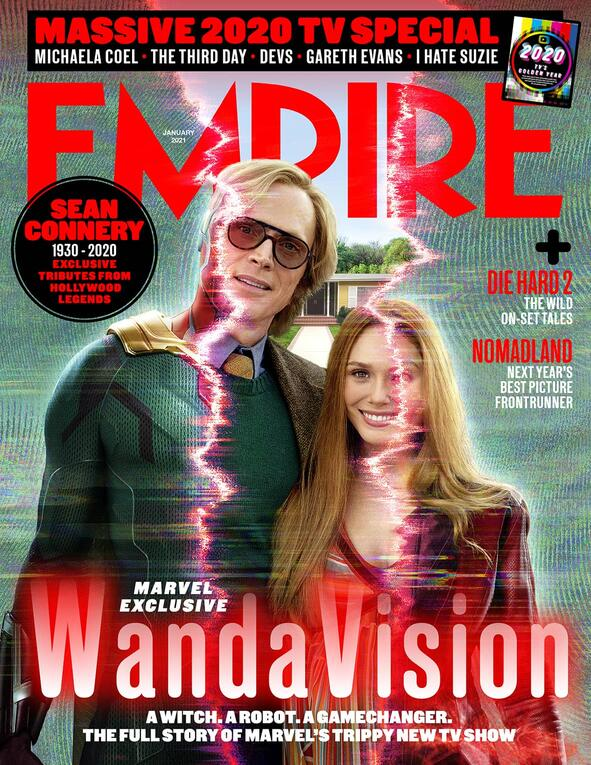Marvel Studios' 'WandaVision' Electrifies the Cover of Empire Magazine