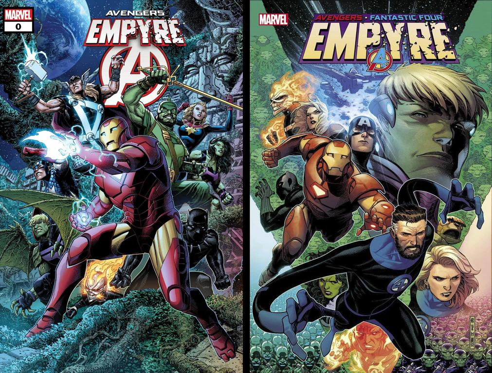 Empyre #1 and Empyre: Avengers #0