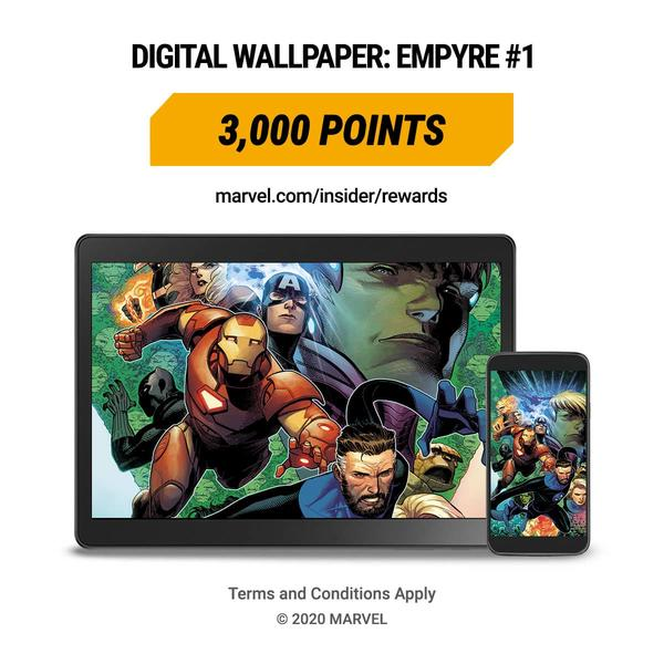 Marvel Insider Rewards Empyre Digital Wallpaper
