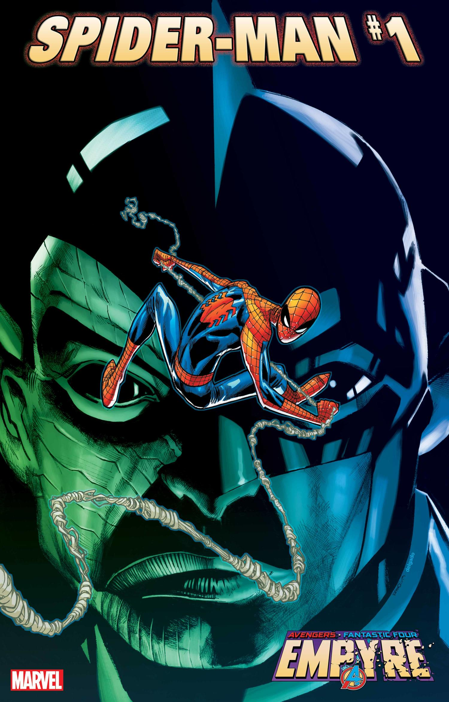 EMPYRE: SPIDER-MAN #1 cover by Humberto Ramos