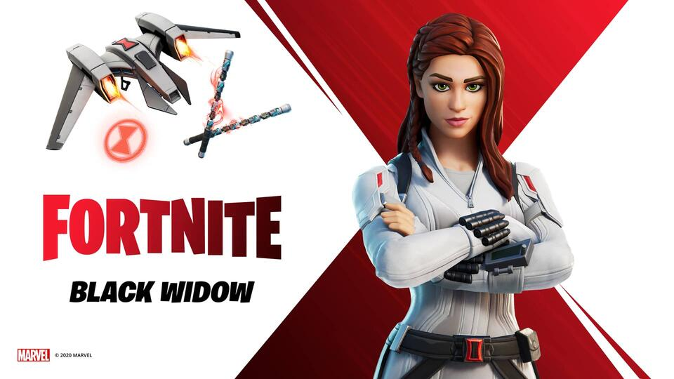 Fortnite Black Widow
