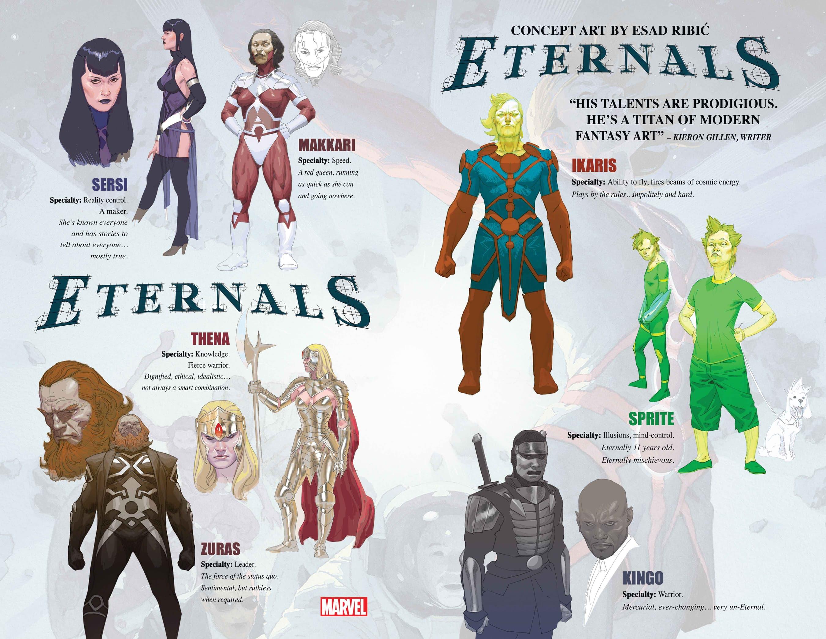 Eternals concept art
