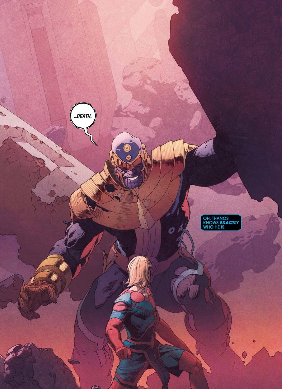 Thanos confronts Ikaris!
