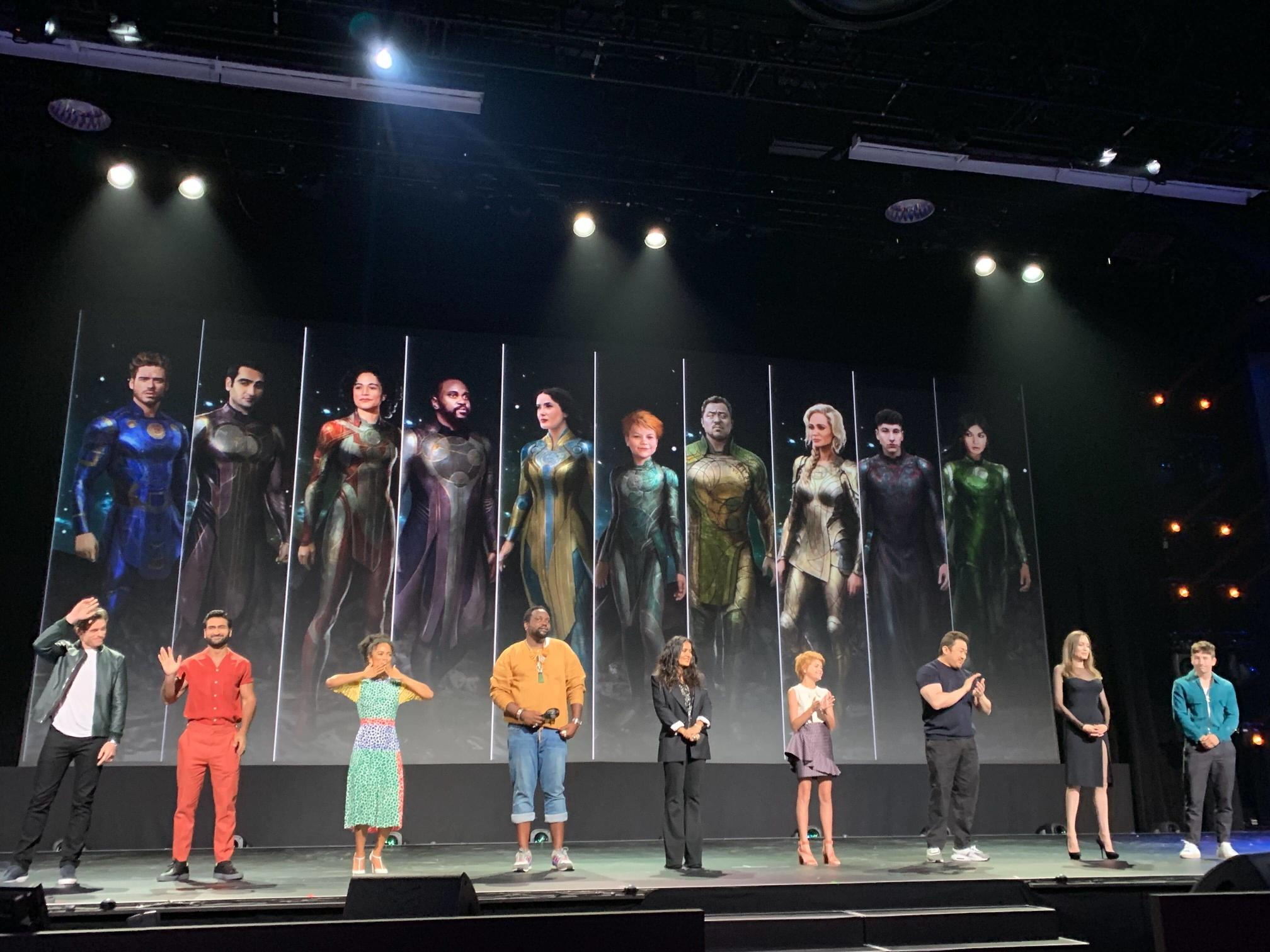 The Eternals at D23
