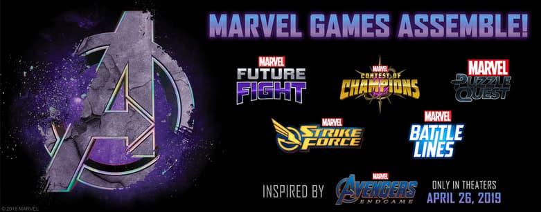 Marvel Games Event Banner