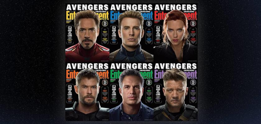 EW Avengers Endgame covers