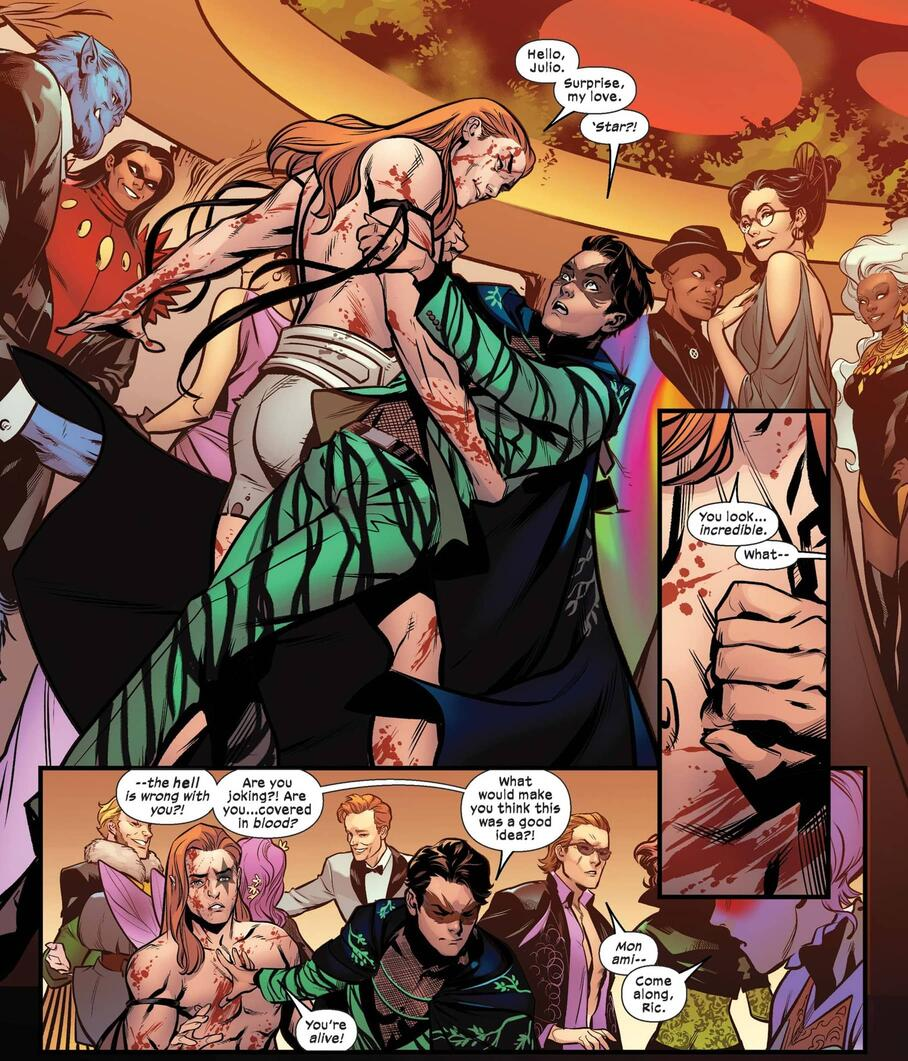 An ex encounter in EXCALIBUR (2019) #21!