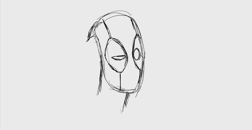 Deadpool squint