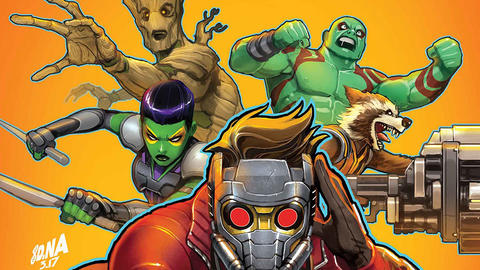 Image for Guardians of the Galaxy: The Telltale Series Comes to Comics