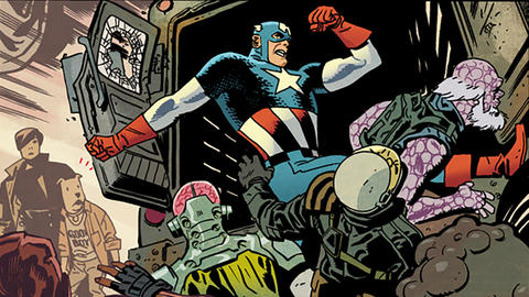 Image for Chris Samnee's Captain America Sketchbook