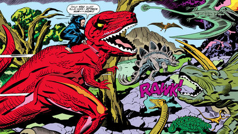 Image for Kirby 100: Devil Dinosaur