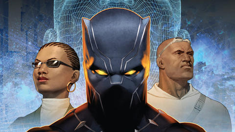 Image for Marvel and Lexus' Black Panther: Soul of a Machine Released as Motion Comic