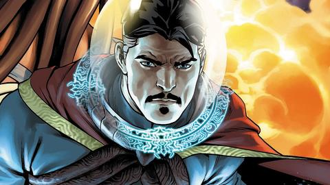 Image for Doctor Strange Goes Cosmic in New #1