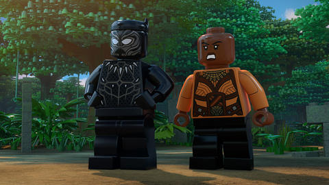 Image for Okoye Works to Help Save Shuri in New 'LEGO Marvel Super Heroes – Black Panther: Trouble in Wakanda' Short