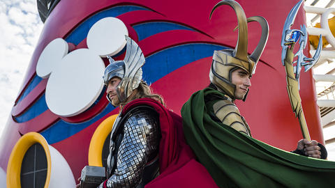 Image for First Look: Loki Makes His Debut Alongside Thor at Marvel Day at Sea