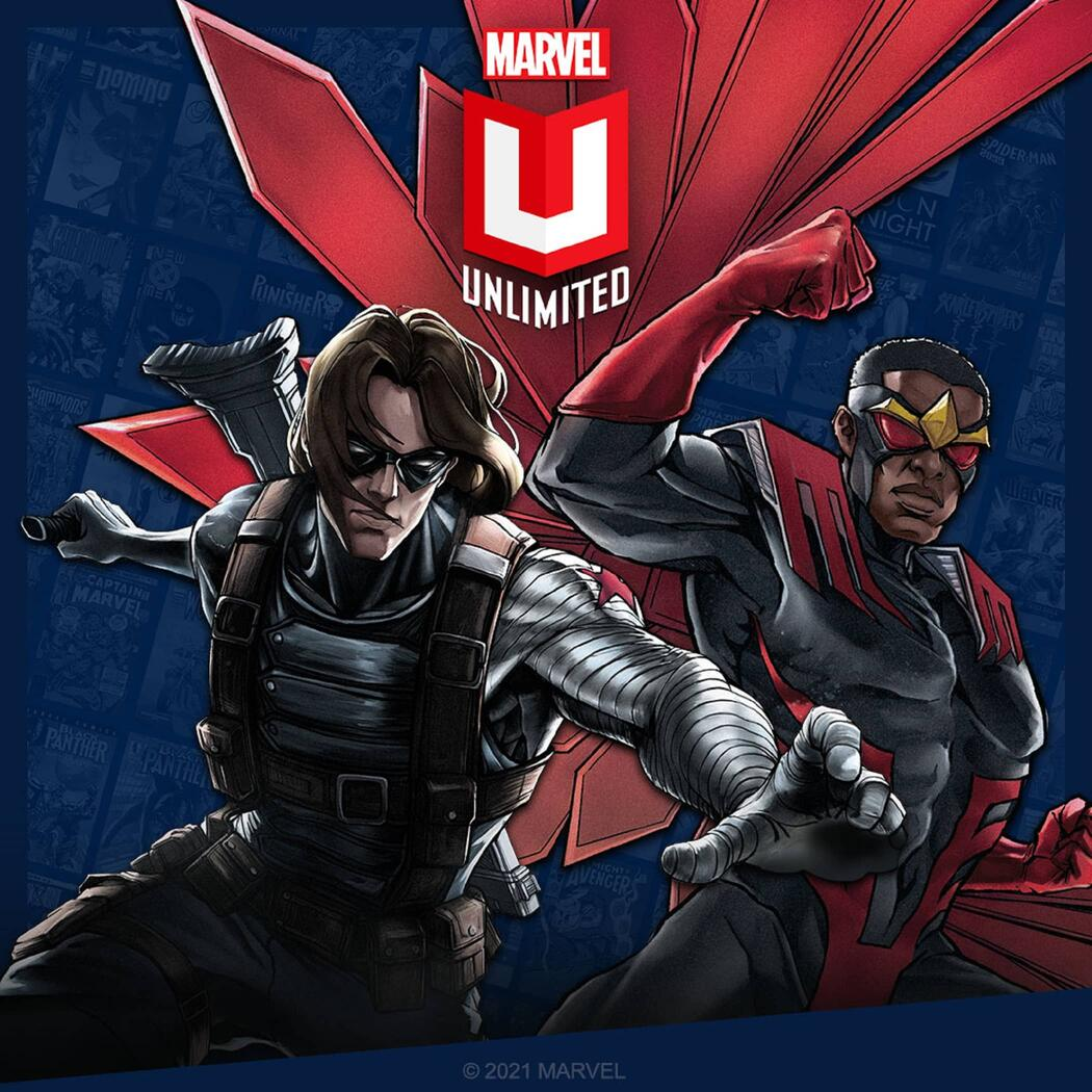Falcon and Winter Soldier on Marvel Unlimited.