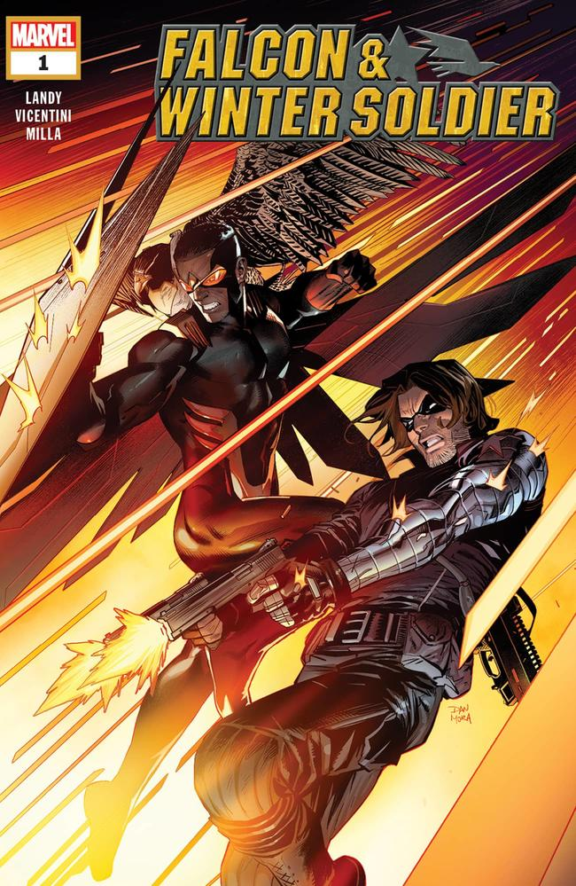 FALCON/WINTER SOLDIER #1 cover by Dan Mora