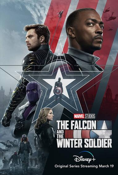 The Falcon and The Winter Soldier Disney Plus TV Show Poster