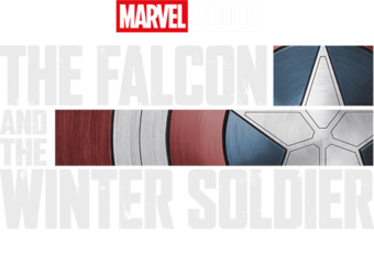 Marvel Studios The Falcon and The Winter Soldier Disney+ TV Show Season 1 Logo
