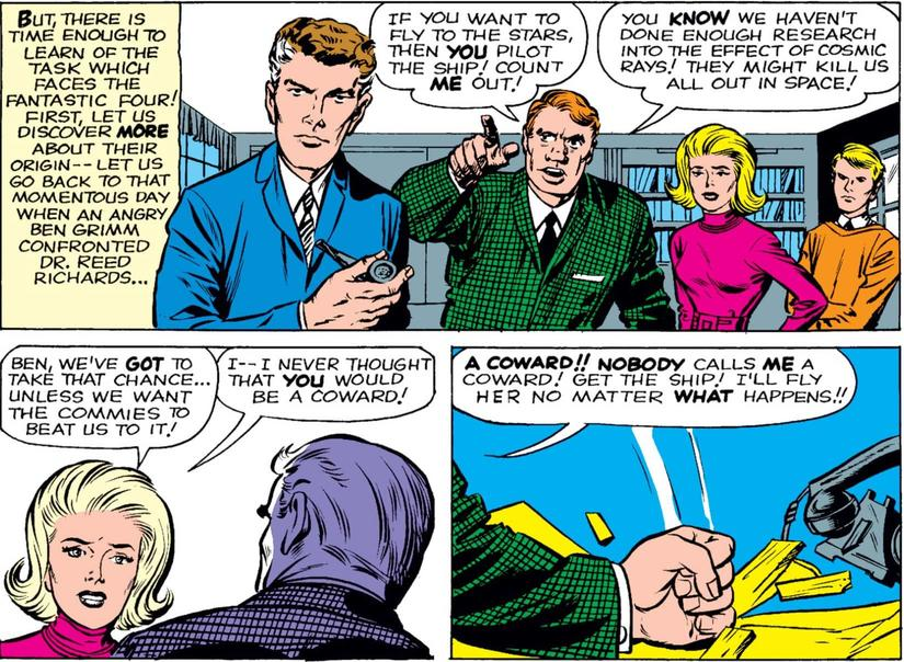 Fantastic Four wants to beat the commies