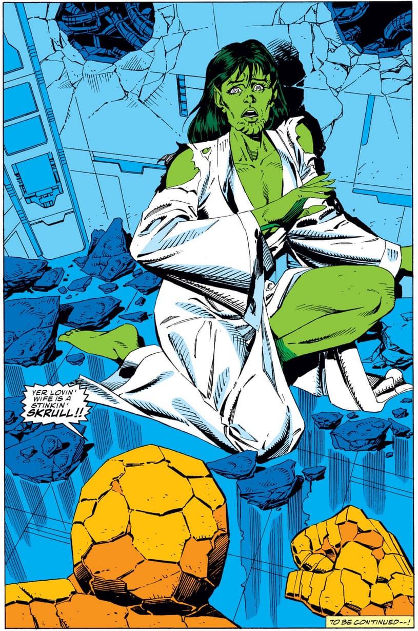 Lyja revealed as a Skrull
