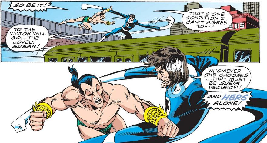 Namor vs. Reed Richards