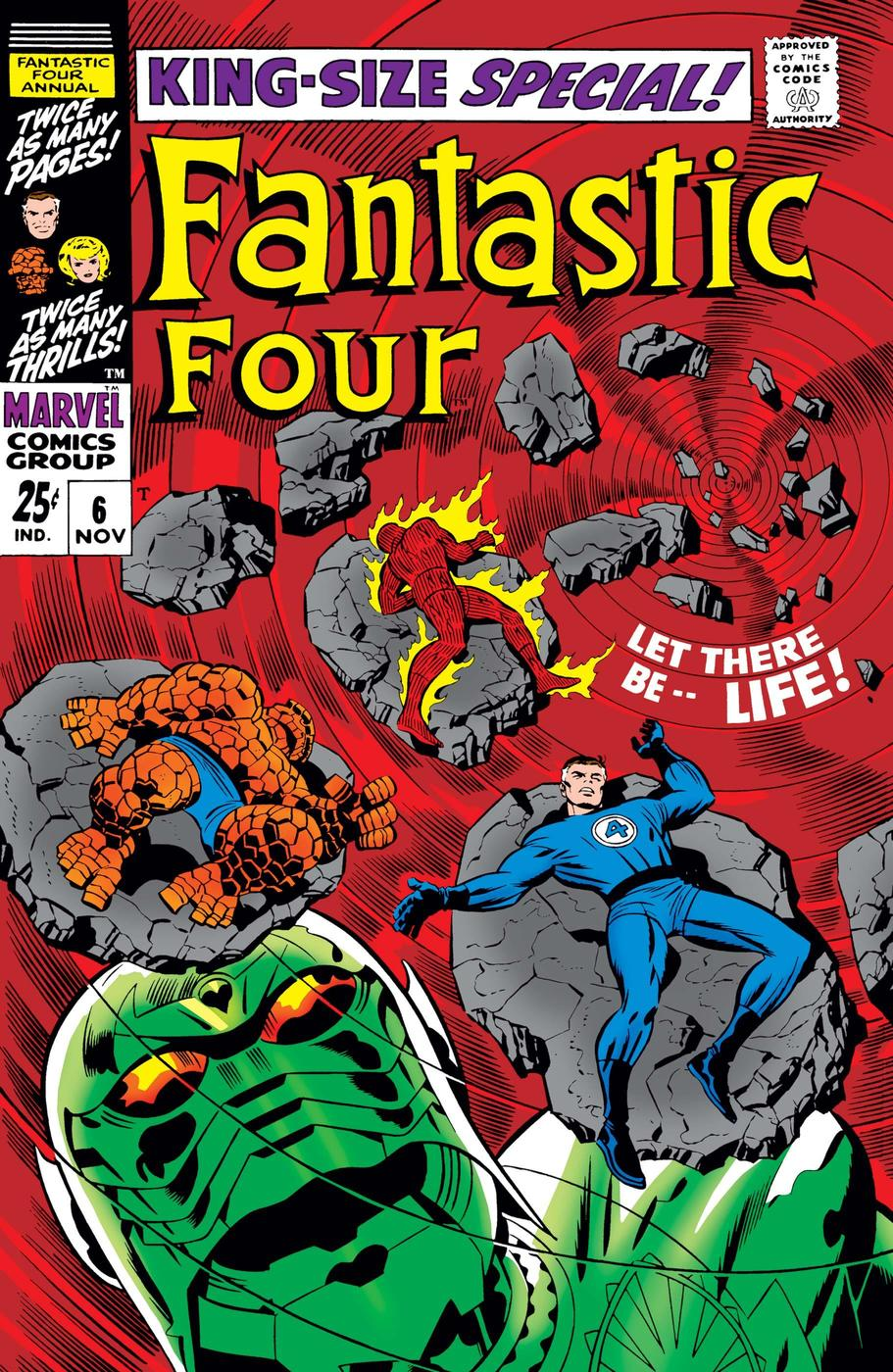 Fantastic Four Annual Cover