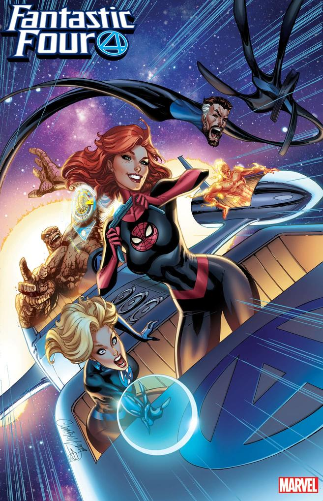 FANTASTIC FOUR #15 by J. Scott Campbell