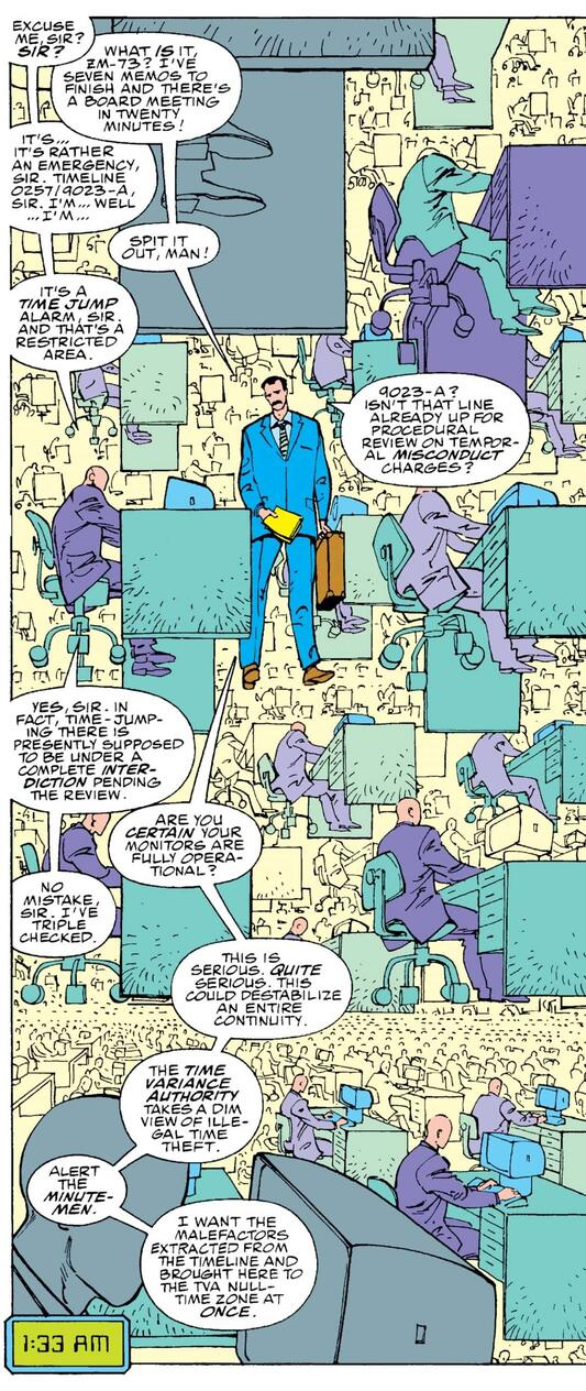The time laws are laid out in FANTASTIC FOUR (1961) #352.