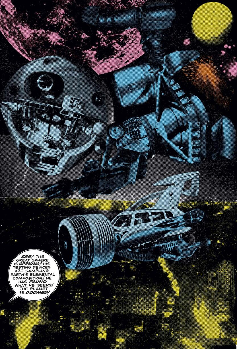 The Watcher's warning about Galactus.