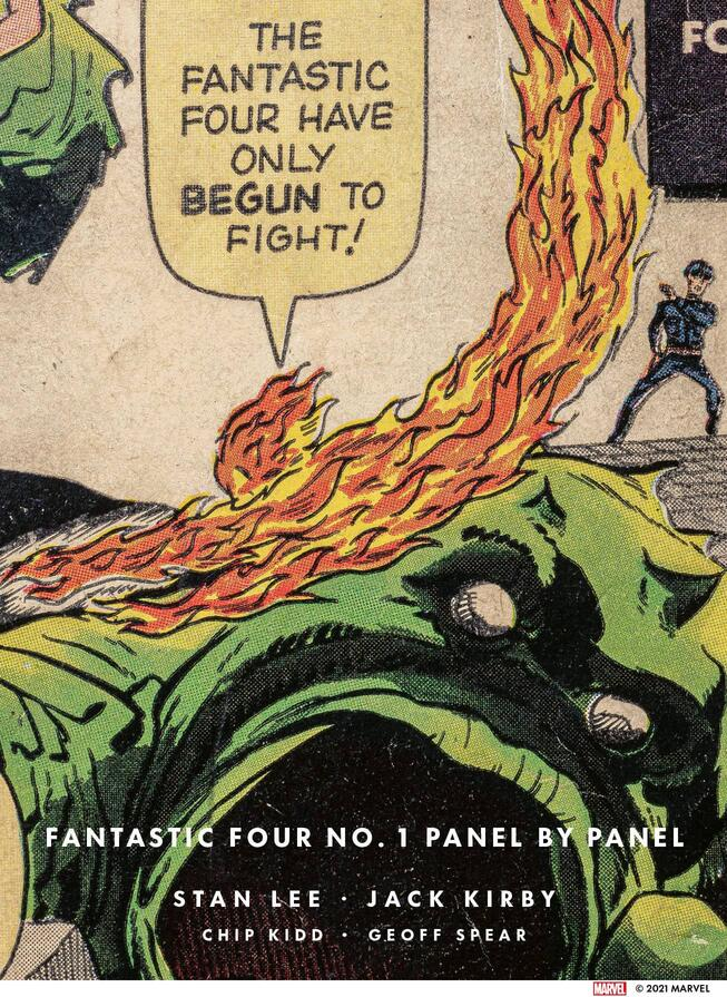 FANTASTIC FOUR NO. 1: PANEL BY PANEL