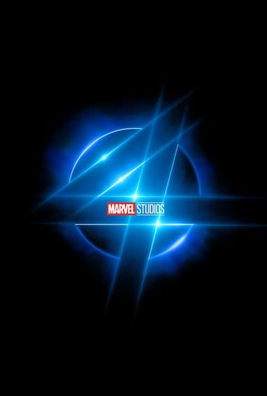 Marvel Studios Fantastic Four Movie Logo on Black