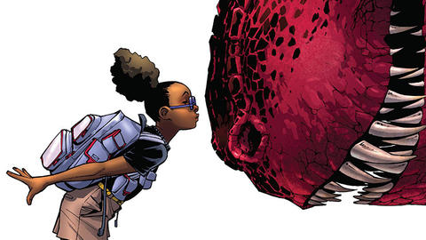 Image for Moon Girl and Devil Dinosaur Are Heading to TV