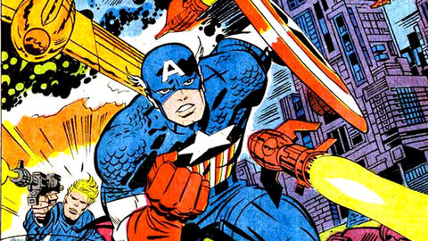 Image for Kirby 100: Captain America