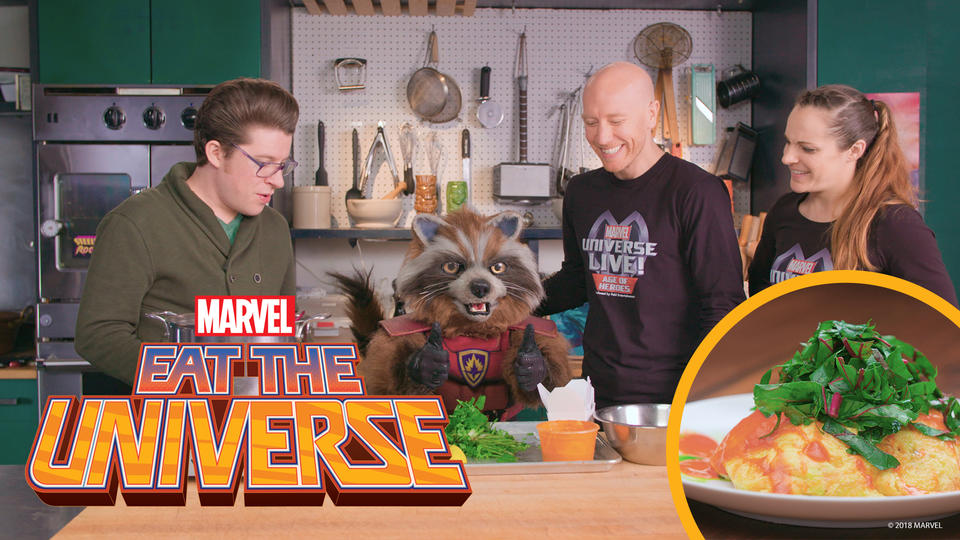 Image for Eat the Universe: Rocket's Trash Omelette