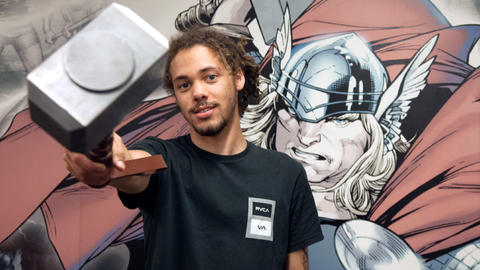 Image for Kweku Collins Joins the Marvel Podcast