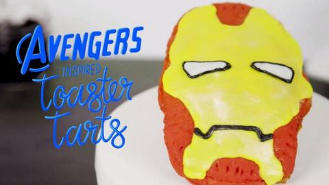 Image for Avengers-Inspired Toaster Tarts