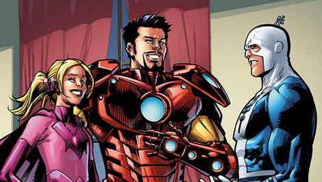 Image for Iron Man Introduces Blue Ear