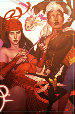 Fearless #2 variant cover by Jenny Frison
