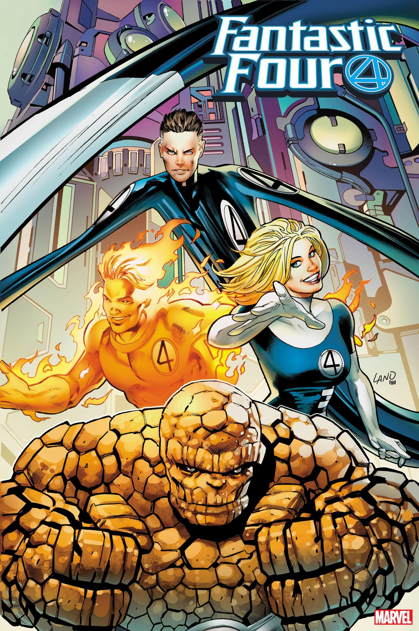 Fantastic Four 2099 variant cover