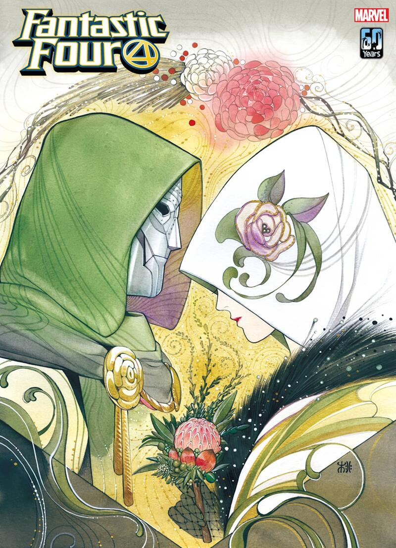FANTASTIC FOUR #32 variant cover by Peach Momoko