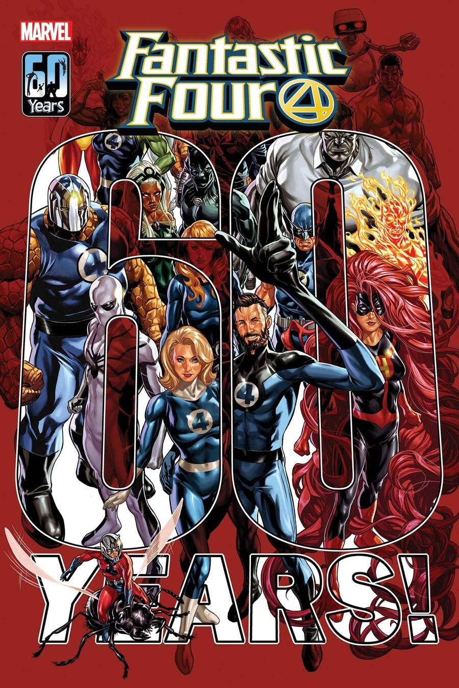 FANTASTIC FOUR #35 cover by Mark Brooks
