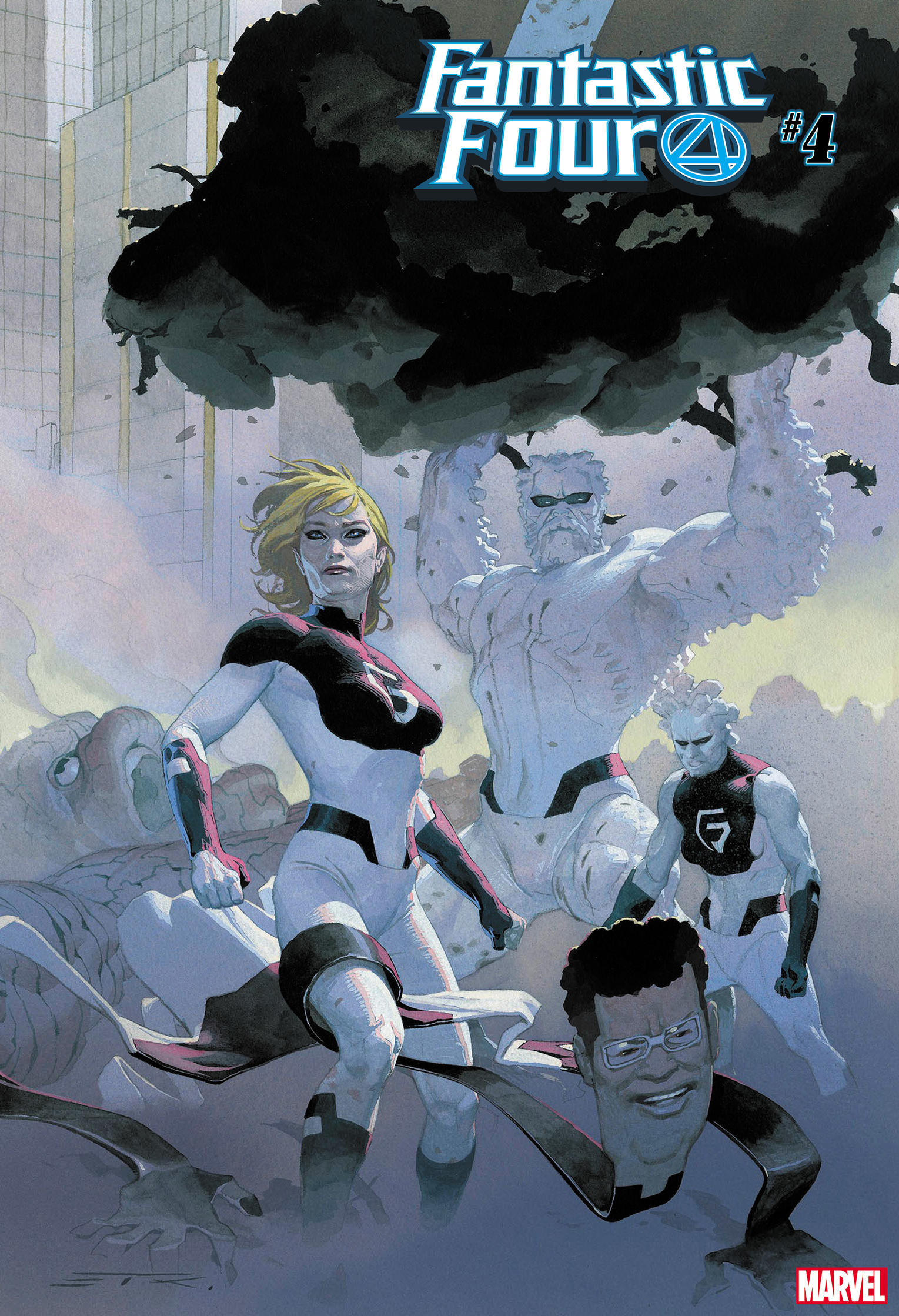 Cover of Fantastic Four Number Four
