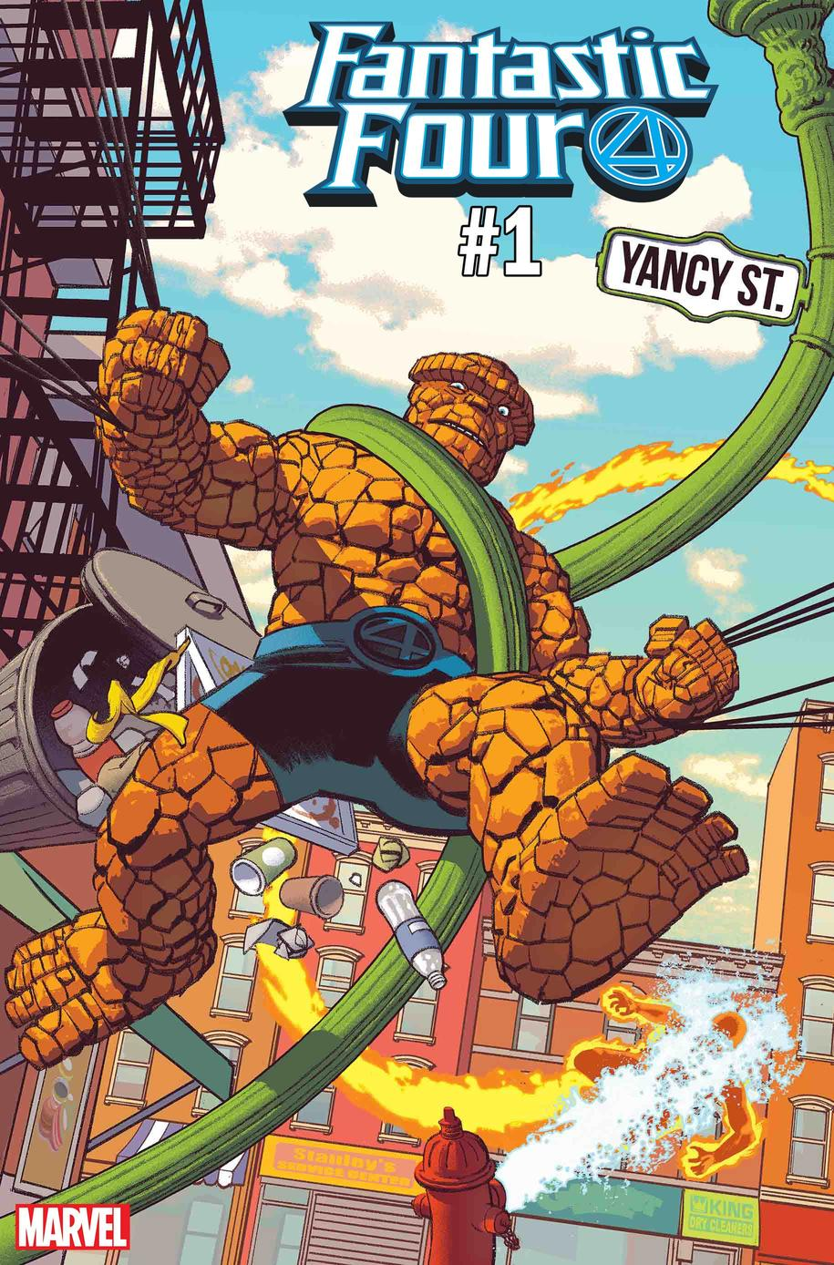 Fantastic Four Yancy Street